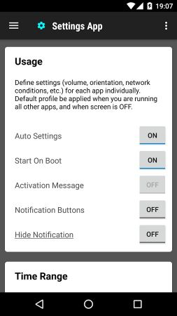 Start Settings APK