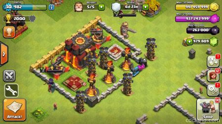 Приватный сервер Clash of Clans